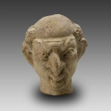 Grotesque Terracotta Head (Mime or Actor)