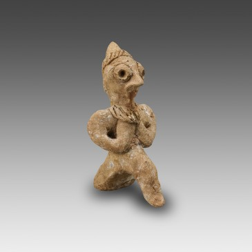Seated Terracotta Statuette