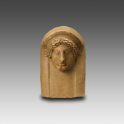 Ex-Voto in the shape of a Female Head