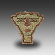 Mummy Faience Bead Mask