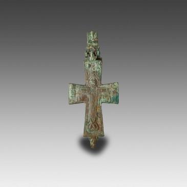Byzantine Reliquary Cross (Encolpion)