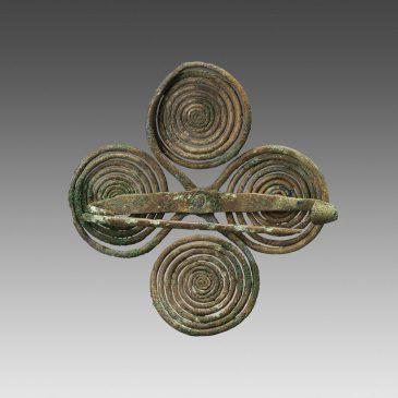 Fibula with four spirals