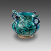 Islamic Vessel with Floral Decoration from the 13th century A.D.