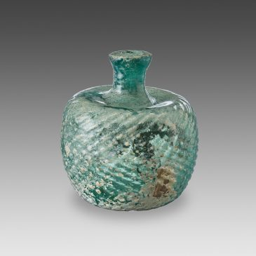 Bottle with Spiral Decoration