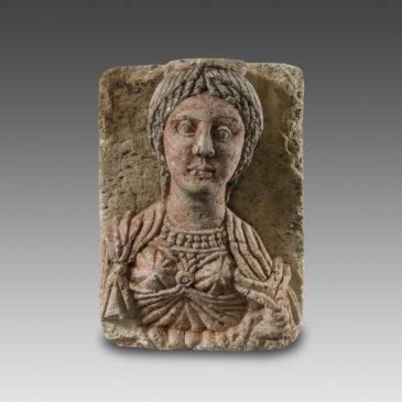 Stèle représentant une Femme