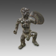 Statuette of a Dwarf Warrior-21364
