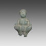 Statuette of a crouching woman - 12880